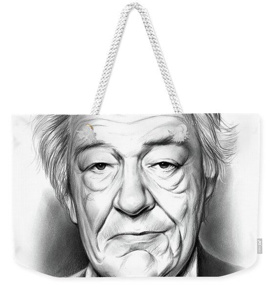 Sir Michael Gambon Weekender Tote Bag