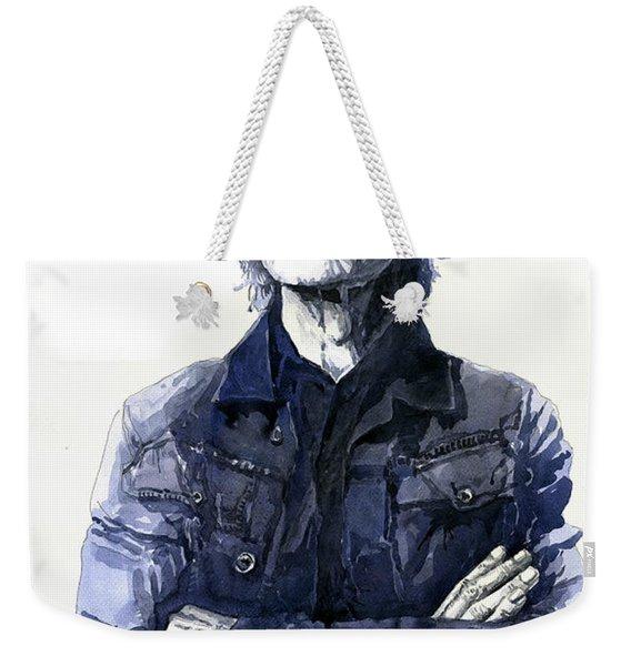 Sir Mick Jagger Weekender Tote Bag