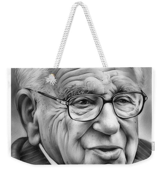 Sir Nicholas Winton Weekender Tote Bag