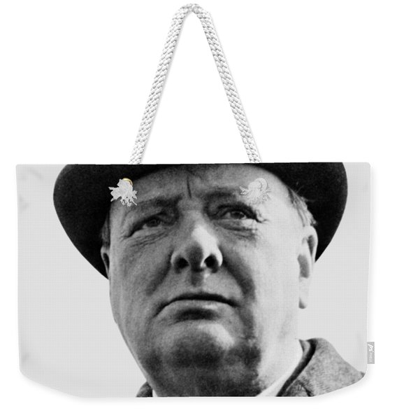 Sir Winston Churchill Weekender Tote Bag