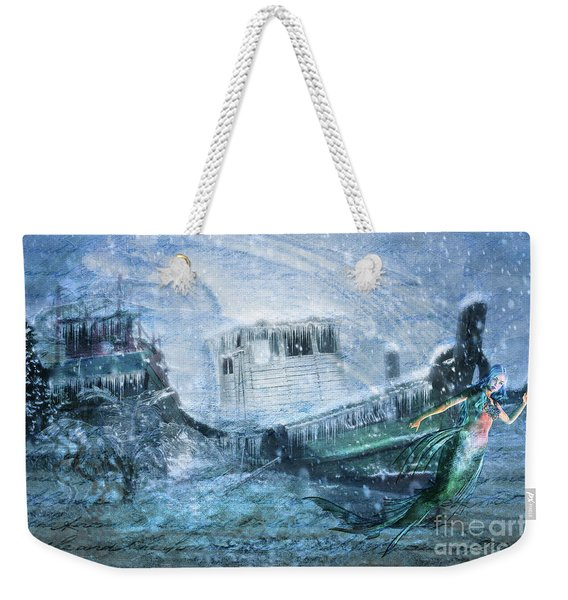 Siren Ship Weekender Tote Bag