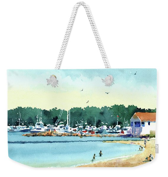 Sister Bay, Door County Weekender Tote Bag