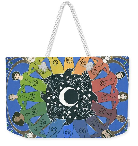 Sister Circle Weekender Tote Bag