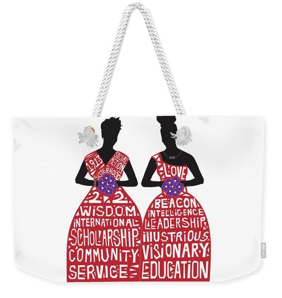 Sisterhood Weekender Tote Bag