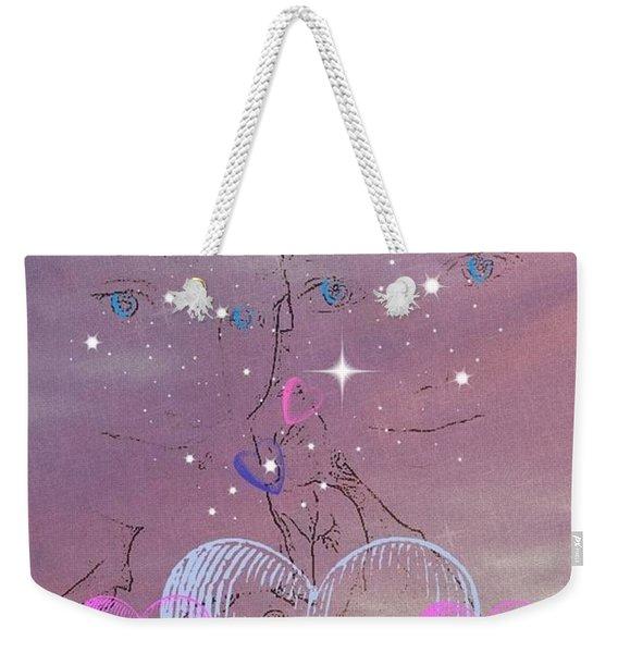 Sisterly Love Weekender Tote Bag