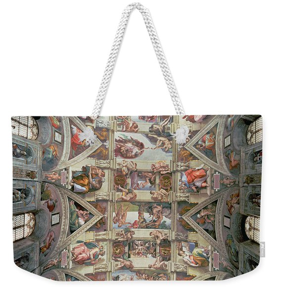 Sistine Chapel Ceiling Weekender Tote Bag