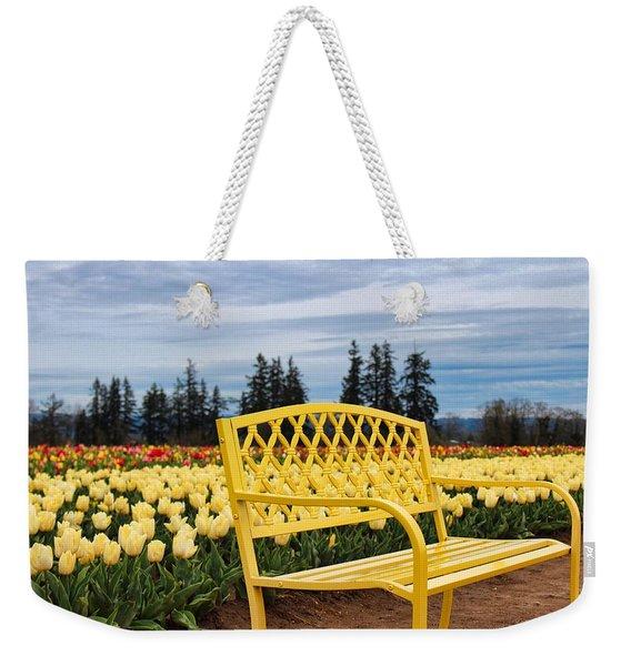 Sit And Enjoy Weekender Tote Bag