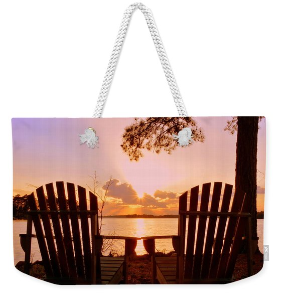 Sit Down And Relax Weekender Tote Bag