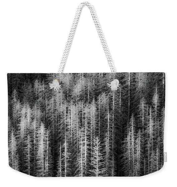 Sitka Abstraction Weekender Tote Bag