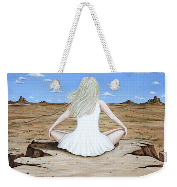 Sittin' On The Edge Weekender Tote Bag