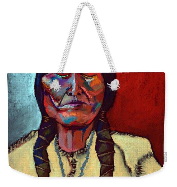 Sitting Bull Weekender Tote Bag