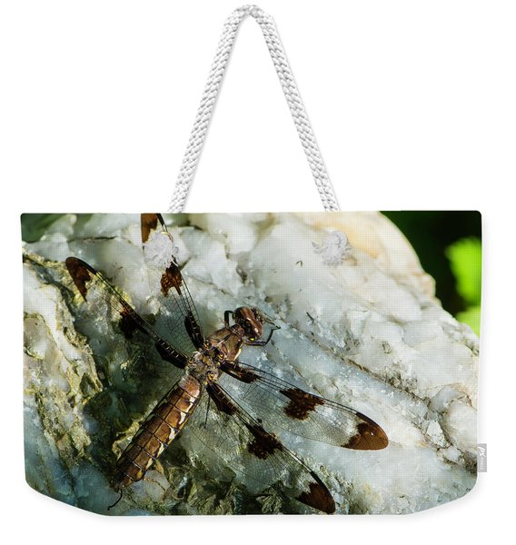 Six Spotted Dragonfly Weekender Tote Bag