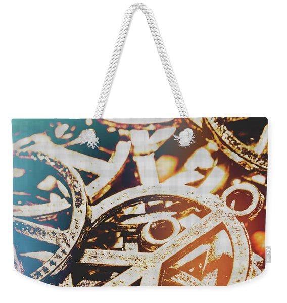 Sixties Peace Revolution Weekender Tote Bag