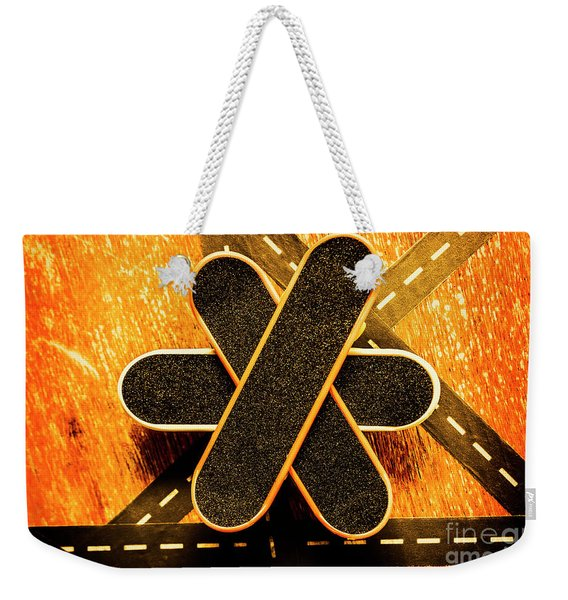 Skateboarding Star Weekender Tote Bag