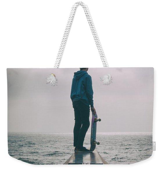 Skater Boy 005 Weekender Tote Bag