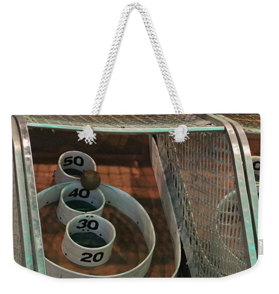 Skee Ball At Marty's Playland Weekender Tote Bag