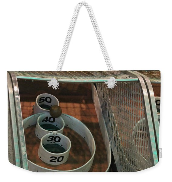 Skee Ball At Marty's Playland Weekender Tote Bag