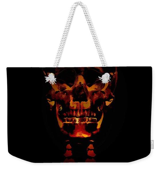 Skeleton - Halloween Selfie Weekender Tote Bag