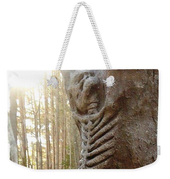 Skeleton Tree Weekender Tote Bag