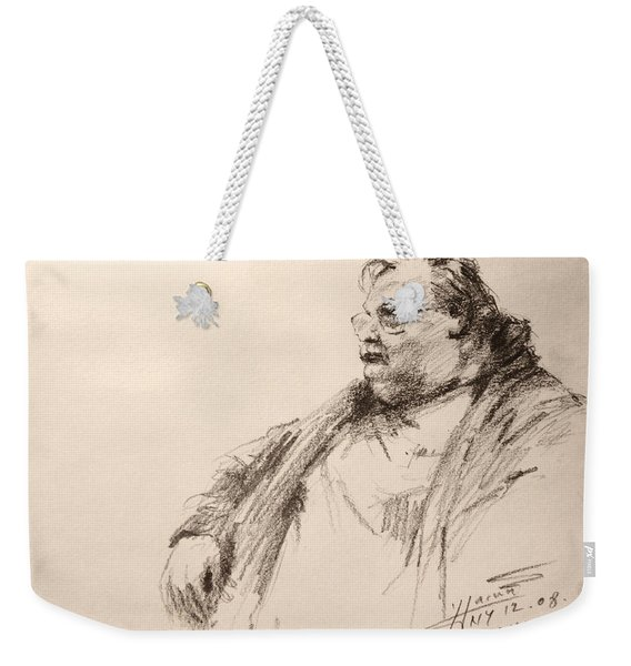 Sketch Man 12 Weekender Tote Bag