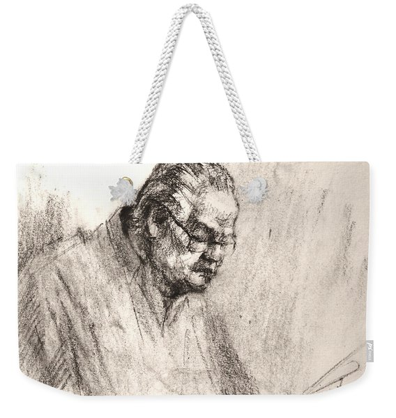 Sketch Man 17 Weekender Tote Bag