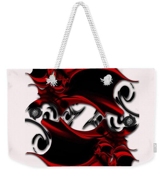 Sketch Of Aesthetic Dimensionality Weekender Tote Bag