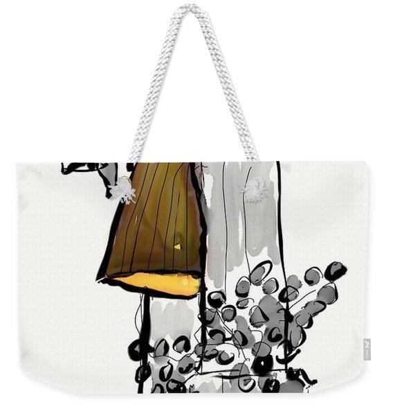 Sketch Of Interior Weekender Tote Bag