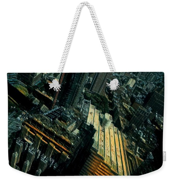 Skewed View Weekender Tote Bag
