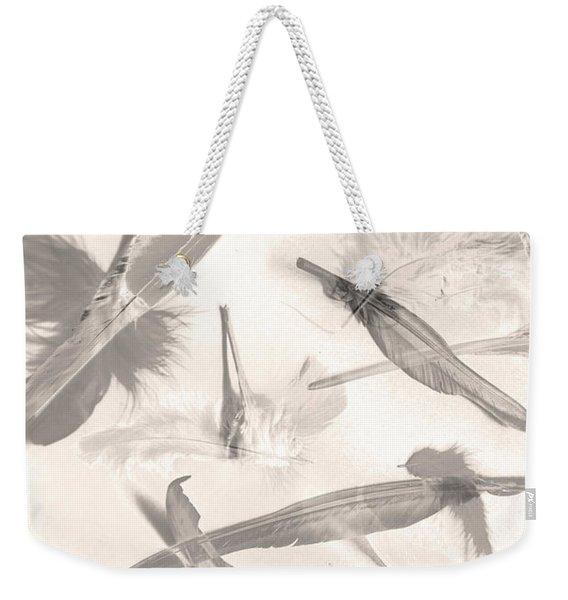 Skies Of A Feather Weekender Tote Bag