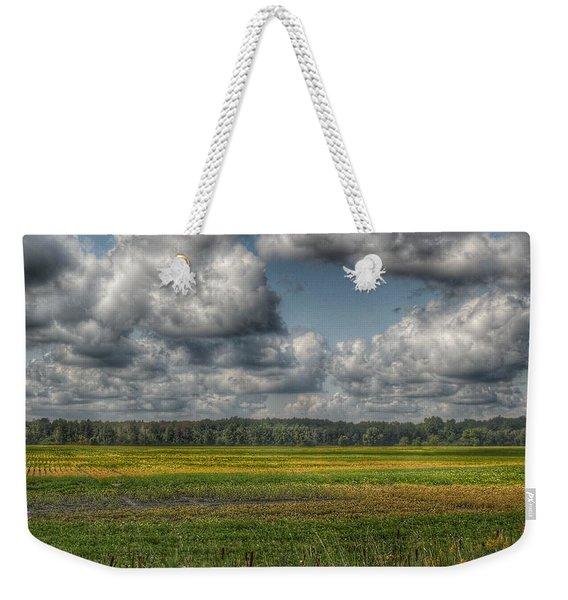 2006 - Skies Of September Weekender Tote Bag