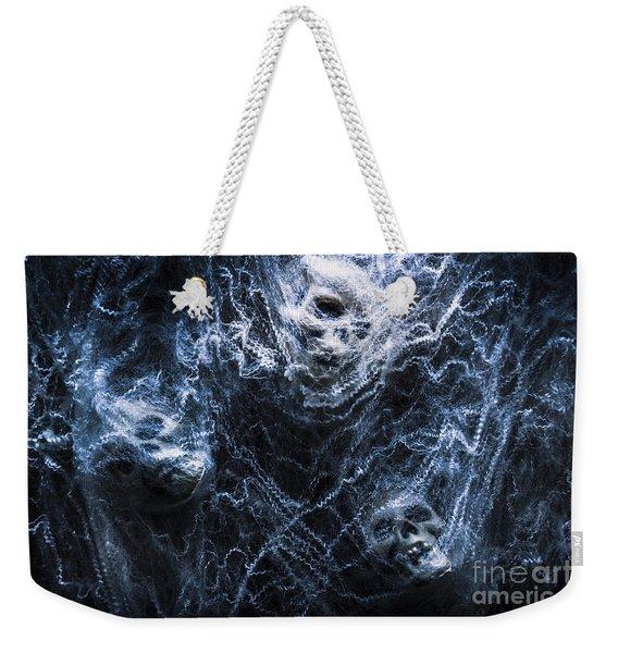 Skulls Tangled In Fear Weekender Tote Bag