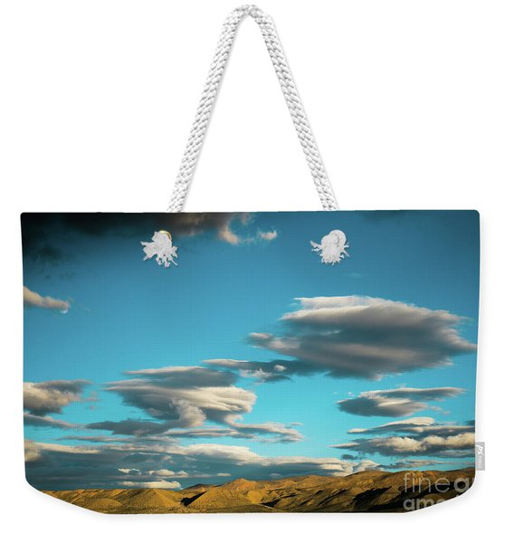 Sky And Clouds Garuda Valley Tibet Yantra.lv Weekender Tote Bag