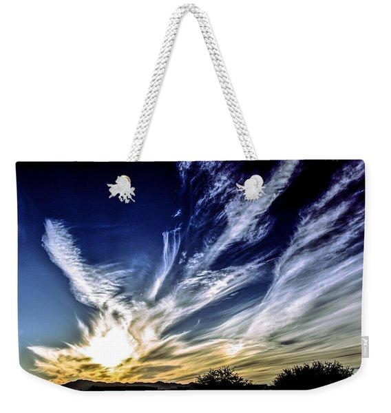 Sky Artistry Over Chandler Arizona Weekender Tote Bag
