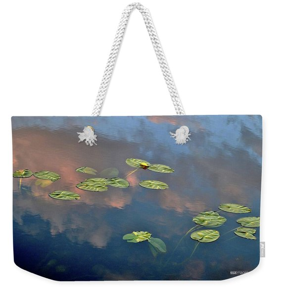 Sky Meets Water Weekender Tote Bag