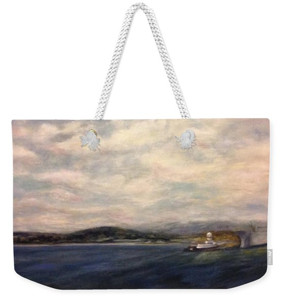 The Port Of Everett From Howarth Park Weekender Tote Bag