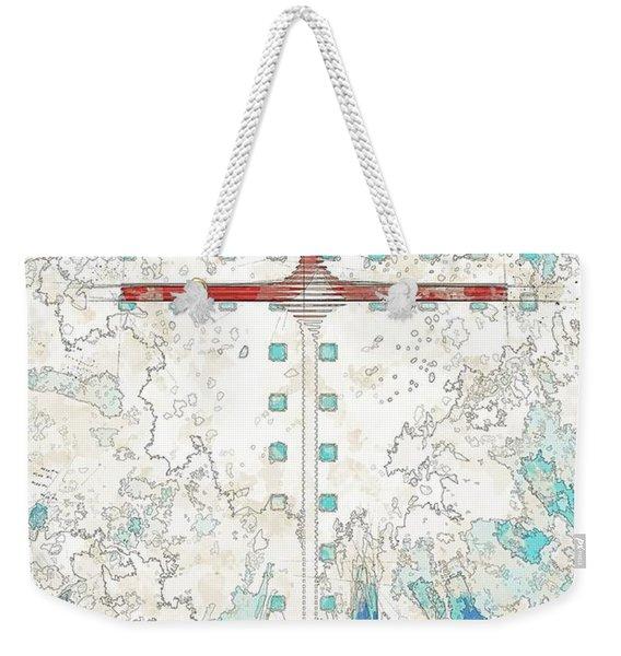 Sky Weekender Tote Bag