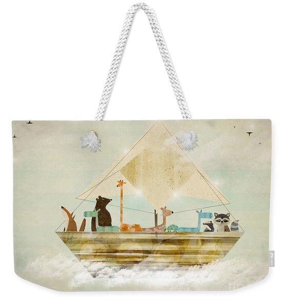 Sky Sailers Weekender Tote Bag