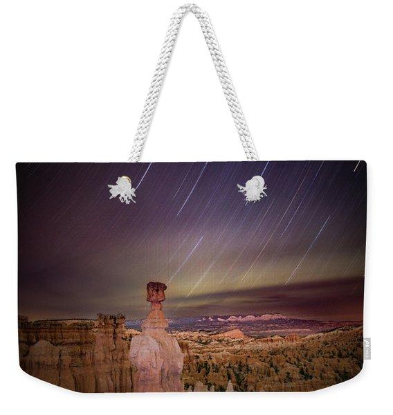 Sky Scraper Weekender Tote Bag