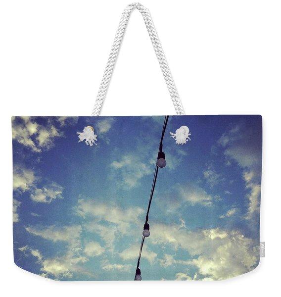 Skylights Weekender Tote Bag