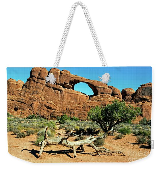 Skyline Arch Weekender Tote Bag