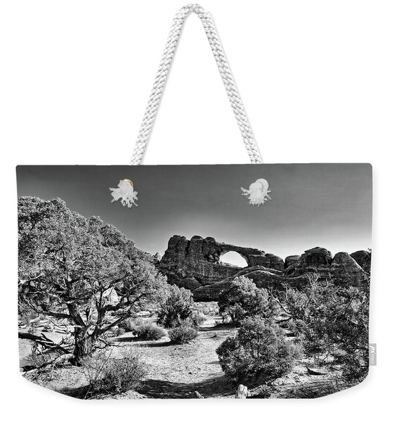 Skyline Arch In Arches National Park Weekender Tote Bag