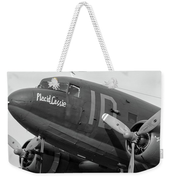 Skytrain In Black And White - 2017 Christopher Buff, Www.aviationbuff.,com Weekender Tote Bag