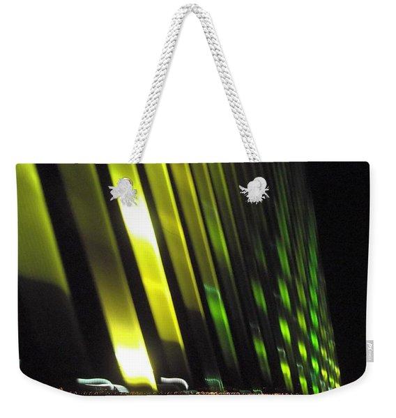 Skyway At Night 5559 Weekender Tote Bag