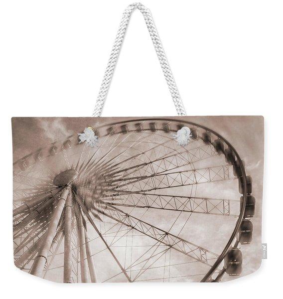 Skywheel In Niagara Falls Weekender Tote Bag