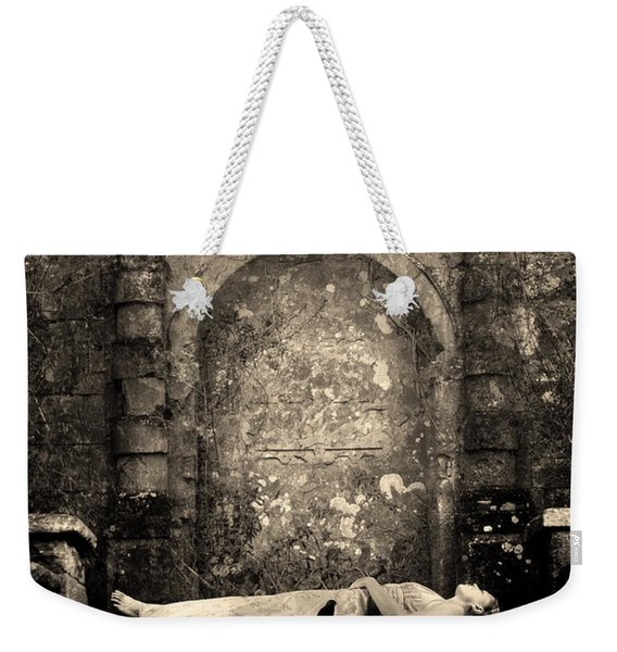 Weekender Tote Bag featuring the photograph Sleeping Beauty by Clayton Bastiani
