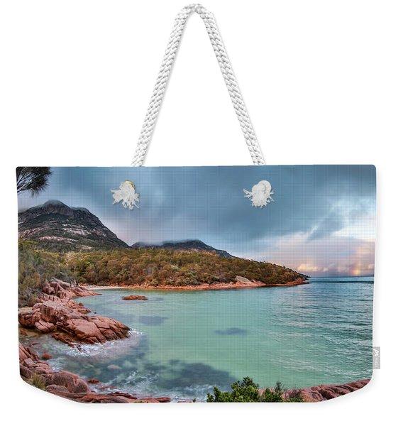 Sleepy Bay Weekender Tote Bag
