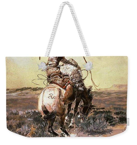 Slick Rider Weekender Tote Bag