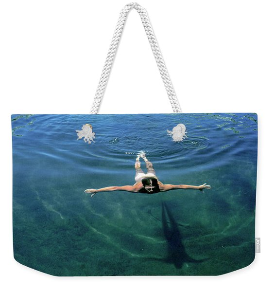 Slip Into Something Comfortable Weekender Tote Bag