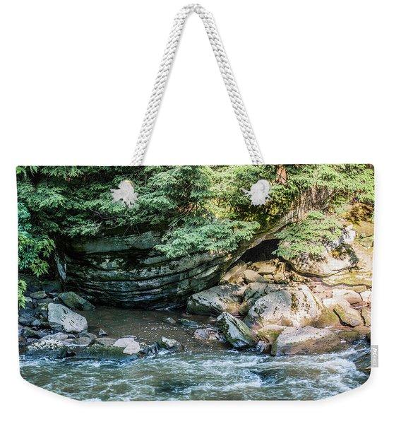 Slippery Rock Gorge - 1895 Weekender Tote Bag