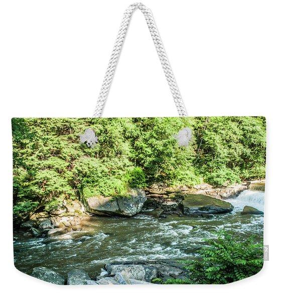 Slippery Rock Gorge - 1898 Weekender Tote Bag